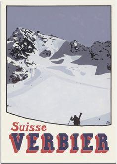 Buy Verbier Switzerland Posters by Artist Lucy Dunnett Lausanne, Wallis, La Provence France, Evian Les Bains, Vintage Ski Jacket, Vintage Ski Posters, Montana, Ski Season, Ski Holidays