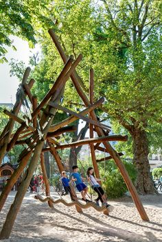 Exploring Berlin's Unique Playgrounds - NYTimes.com