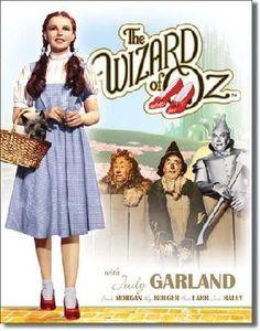 Wizard of Oz Movie Poster Tin Sign , 12x16
