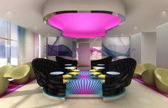 Rock y diseño, Hotel Nhow Berlín de Karim Rashid | Experimenta