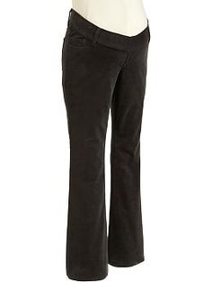 Maternity Low-Rise Skinny Mini-Flare Cords | Old Navy
