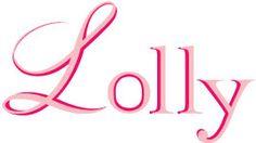 @Lolly Magazine logo BEFORE ArdentLife Media  #thrifting #LA #graphicdesign #LollyMagazine