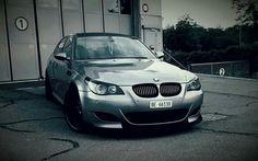 BMW E60 M5 grey