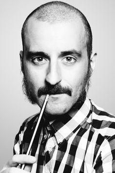 Diseñador gráfico retrato en Gijón