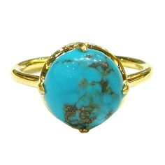 Gemma Stackable Ring Turquoise  By Suzanne Somersall