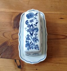 Blue Danube China Japan Butter Dish Mint Condition | eBay
