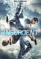 (DVD) Insurgent. Tris and Four are now fugitives on the run, hunted by Jeanine, the leader of the power-hungry Erudite elite. Racing against time, they must find out what Tris's family sacrificed their lives to protect, and why the Erudite leaders will do anything to stop them.