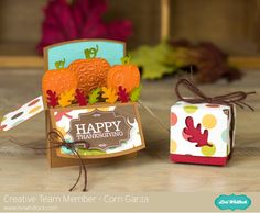 Fall Pumpkin Favors with Corri
