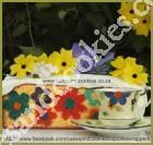 Tutorial - Bake Flowers Inside Your Cakes - How gorgeous!