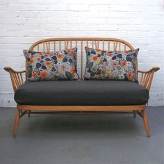Winter's Moon — Vintage Two Seater Ercol Sofa (Bespoke) Ercol Sofa, Ercol Furniture, 2 Seater Sofa, Retro Furniture, Furniture Design, Mismatched Furniture, Country Furniture, Sofa Design, Sofa Sale