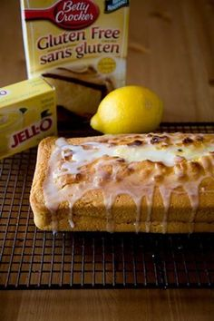 This gluten free lemon loaf is an easy way to punch up a plain gluten free cake mix