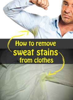 1000 images about homemade beauty on pinterest home for Removing sweat stains from white shirts