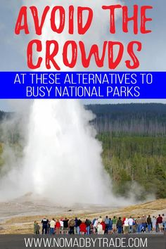 Looking to escape the crowds at the US' busiest National Parks? Try these alternatives to the top ten most crowded National Parks. American National Parks, Most Visited National Parks, Us National Parks, North Cascades National Park, Capitol Reef National Park, Travel Guides, Travel Tips, Travel Articles, Tongass National Forest