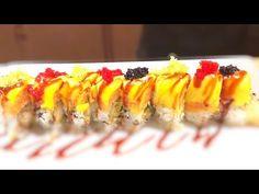 Best Sushi Rolls, Sushi Roll Recipes, Dragon Roll Sushi, Mango Sushi, Sushi Chef, Shrimp Avocado, Sushi Time, How To Make Sushi, Asian Recipes