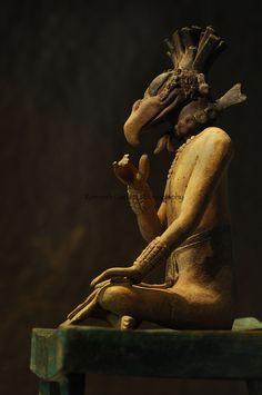 Maya, Palenque, Ancient Cultures, The Americas, Archaeology, Mexico, Meso America, figure, ceramic, artifact