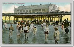cleethorpes pier old pics Old Pictures, Old Photos, British Seaside, Old Street, Local History, Great British, Bathing Beauties, Paris Skyline, Britain