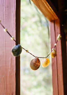 Endless Summer Shell Garland | Bohemian Home Decor by SoulMakes #bohemian #garland #shells