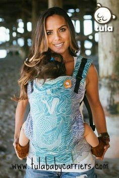Half Toddler Wrap Conversion Baby Carrier - Lorelei Anthias: Half Toddler Wrap Conversion Baby Carrier Lorelei Anthias has beauty of woven wrap & the ease and comfort of Tula Baby Carriers. Perfect for infants to toddlers Future Daughter, Future Baby, Baby Carrying, Baby Mermaid, Mermaid Nursery, Baby Gadgets, Baby Must Haves, Everything Baby, Baby Wraps
