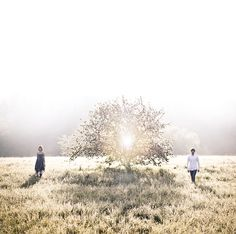 Angels - prewedding photoshoot