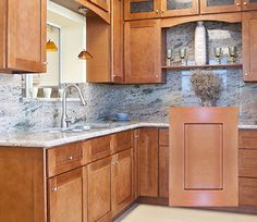 Low Cost Kitchen Shaker Cinnamon RTA Kitchen Cabinets We Have Very Good  Rang Of Shaker Cinnamon Product At Our Online Store Lily Ann Cabinets.
