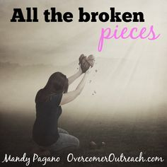 """I have clocked some serious time on the floor, face-down, tears streaming down my face, begging God to save me. Life's problems weighed me down, suffocated me, and convinced me that I would never feel whole again."" ~Mandy Pagano"