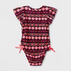 deba0c15d66 Toddler Girls  One Piece Swimsuit - Cat   Jack Pink 3T