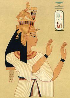 Queen Tiye, by Prisse d'Avennes