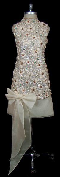 Mary Quant 1960's . . would make a fabulous retro wedding dress . .