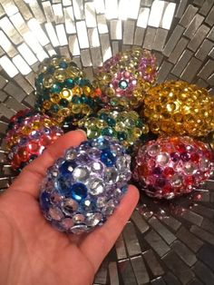 .What to do with those left over plastic Easter eggs.