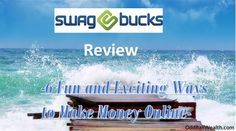 Swagbucks Review - 6 Exciting Ways to Earn Money Online. /search/?q=%23earnmoney&rs=hashtag - http://oddballwealth.com/swagbucks-review-6-exciting-ways-to-earn-money/