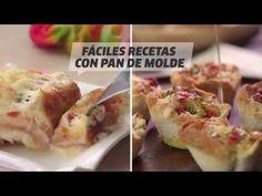 Recetas con pan de molde: pastel de pollo y quiche - YouTube