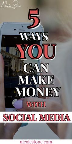 Learn exactly how you can make money with social media RIGHT NOW!!! By simply linking products, promoting sponsors, and being YOURSELF, you can make hundreds to thousands of dollars in products! Click through to learn EXACTLY how! #makemoney #socialmedia #earnmoney #marketing