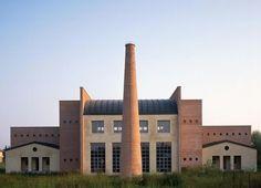 Work of Aldo Rossi, inspirer architect for our designer Giorgio Silla: #Borgoricco #TownHall (Veneto).