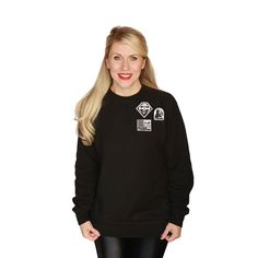 Darkside Patches Pullover