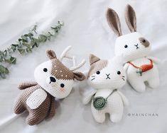 This is a PDF crochet pattern, not a finished doll.Little Deer is written in ENGLISH– Size approx: inch).– Yarn: Sport or Dk light weight yarn. ( I used Yarn Art Jeans )– Hook: Crochet Animal Patterns, Crochet Doll Pattern, Stuffed Animal Patterns, Crochet Patterns Amigurumi, Crochet Dolls, Crochet Animals, Yarn Animals, Doll Patterns, Kawaii Crochet
