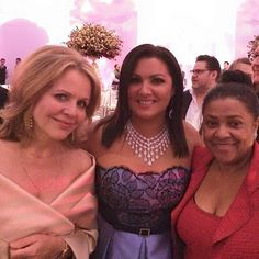 The 3 Sopranos: Renée Fleming, Anna Netrebko, and Kathleen Battle.