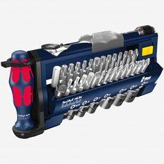 Wera 227704 Red Bull Racing Tool-Check Plus Bit Ratchet Set with Sockets - Metric