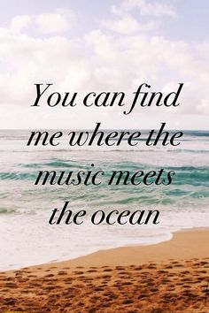 Where music meets the ocean