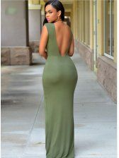 Hot black girls Maxi dress, Bodycon dress on Stylevore Side Slit Maxi Dress, Sexy Maxi Dress, Bodycon Dress, Sexy Outfits, Fashion Outfits, Girls Maxi Dresses, Sexy Dresses, Fashion And Beauty Tips, Beautiful Black Women