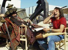 """Pirat, piratlajv. Film """"Pirates"""" (år 1986), Walter Matthau, Roman Polanski."""