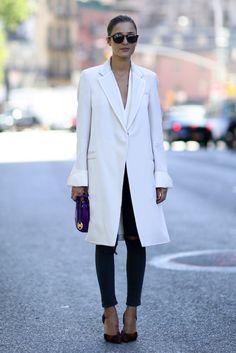Street style at New York fashion week, #ss15 Eleonora Carisi, #fashion #blogger