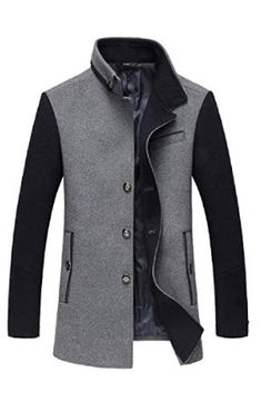 RRINSINS Mens Long Sleeve Lamb Wool Lined Warm Slim Fit Quilted Biker Jacket