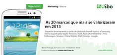 As 20 marcas que mais se valorizaram em 2013. Mundo Marketing, Walt Disney, Volkswagen, Galaxy Phone, Samsung Galaxy