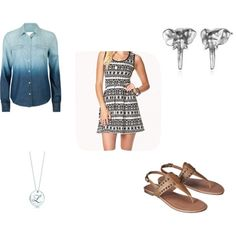 """""""Cool Breeze"""" by cara-weidinger on Polyvore"""