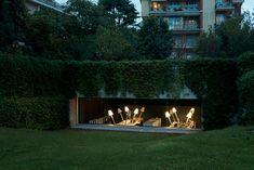 underground garage turned architecture office by carlo bagliani - designboom | architecture & design magazine