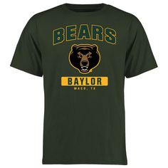 Baylor Bears Big & Tall Campus Icon T-Shirt - Green - $24.99