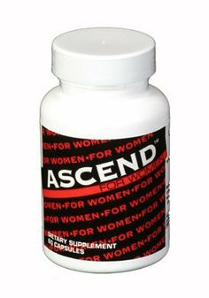 Ascend for Women by Ascend. $49.95. Ascend for Women is an all natural Herbal formula that contains No drugs, No hormones, and no Stimulants. It helps with women's sexual health, low sex drive, vaginal dryness, and female Sexual dysfunction. It is safe and effective for women of all ages. Guaranteed to work for you or your money back.