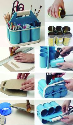 DIY CRAFT IS THE BEST WAY TO WASTE Page 34 of 63 is part of Tin can crafts - DIY production not only needs to create ability, but also puts creative ability into practice and creates it with its own hands From the initial Tin Can Crafts, Diy Home Crafts, Diy Home Decor, Stick Crafts, Home Decoration, Bedroom Crafts, Wall Decorations, Craft Rooms, Diy Bedroom