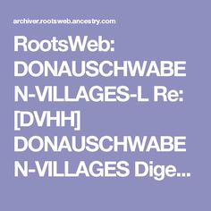 RootsWeb - the Internet's oldest and largest FREE genealogical community. Genealogy, Messages, Reading, History, Reading Books, Text Posts, Text Conversations