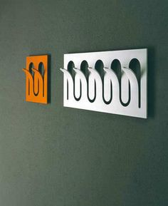 Coat hook - SNAKE by Hanno Giesler - eXdè